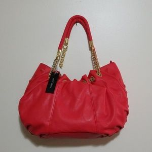 Olivia + Joy Coral Sedonia Hobo Bag
